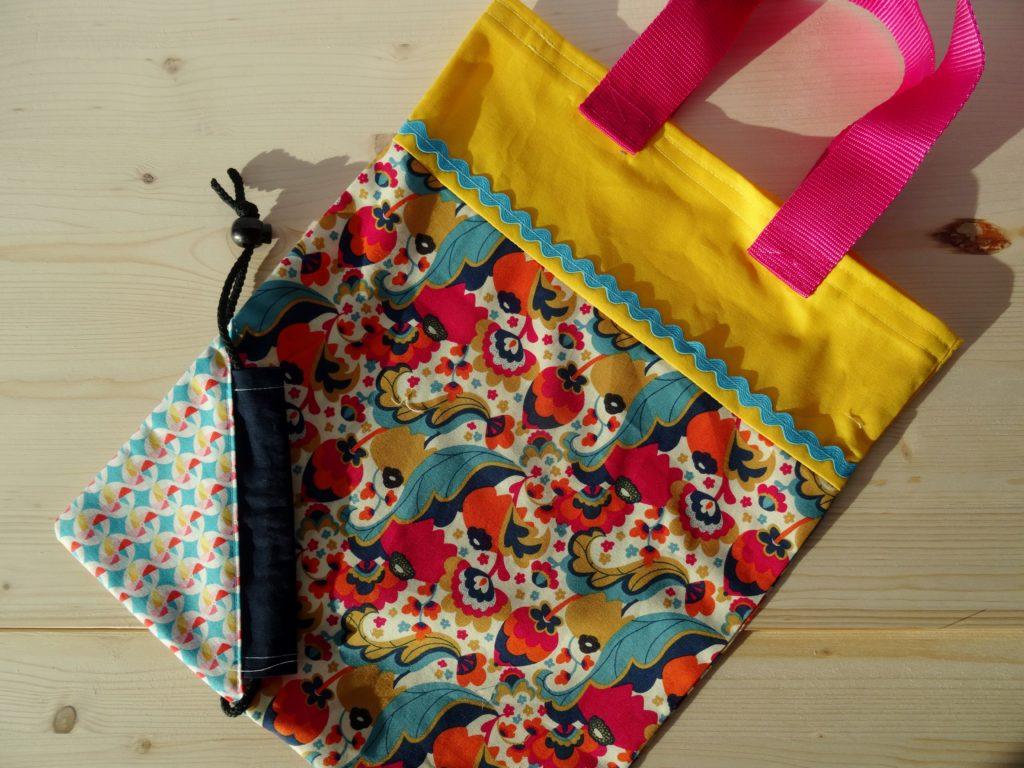 Top 4-Schnittmuster - Einkaufstasche Zum Falten von Beate